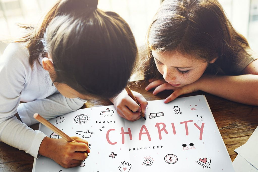 Organize fundraising activities for charity Annual